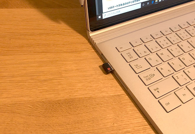 surface USBポート