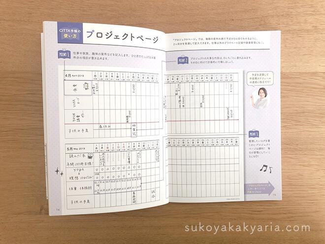 CITTA手帳公式ガイドブック
